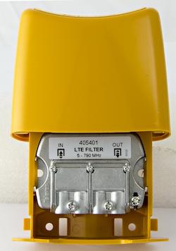 LTE-60 LTE/4G filter för utomhusbruk, Easy-F