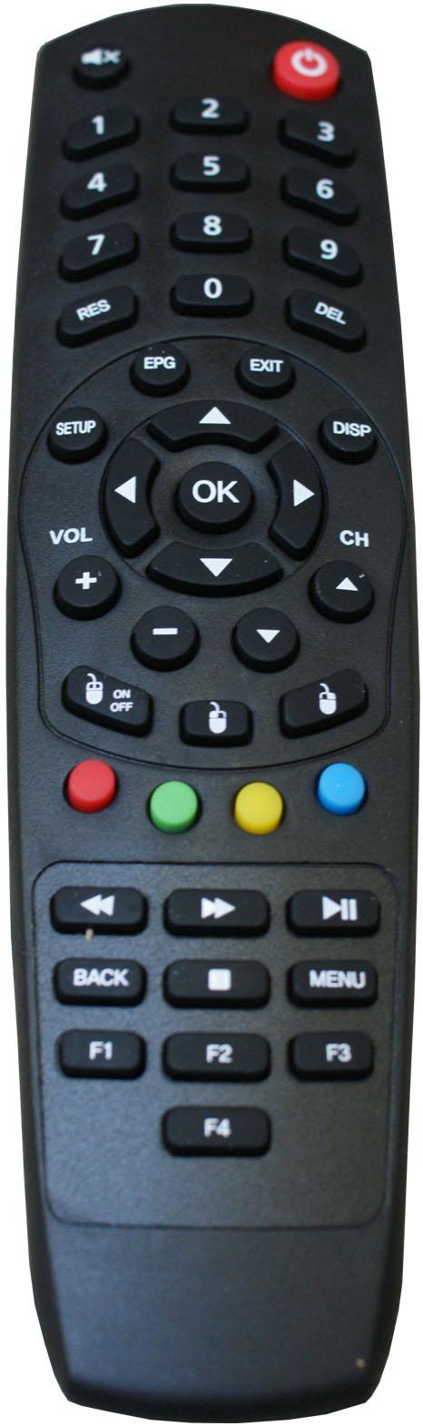 ZAAPTV Fjärrkontroll till HD509 box.