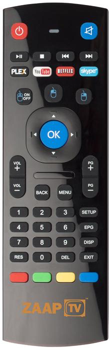 ZAAPTV Fjärrkontroll A21 med tangentbord till HD509