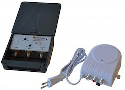 Bästa antennförstärkaren UHF / VHF nätdel LTE-skydd