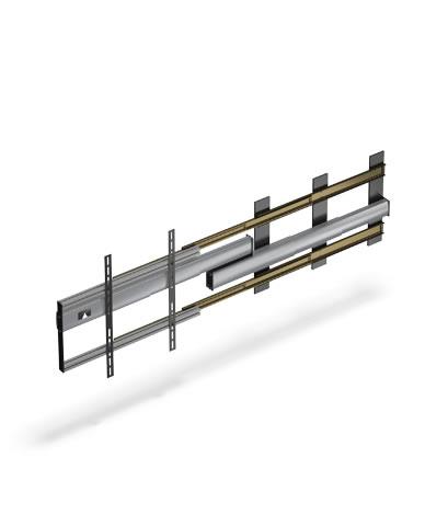Flatlift Slider TV-lift 170cm sidledsförflyttning