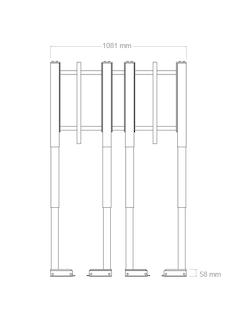 Tv - Lyft / Hiss 95cm för tunga TV (150kg)
