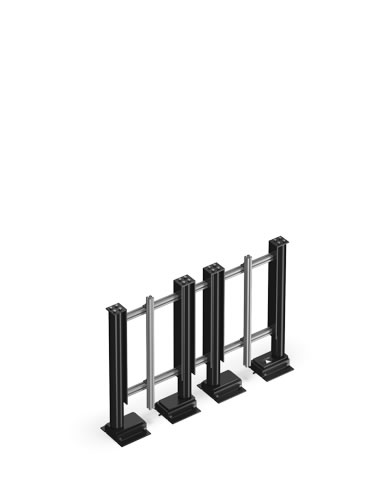 Flatlift Tv - Lyft / Hiss 95cm för tunga TV (150kg)