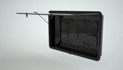TV SHIELD Vandalsäker vattentät låda för tv 50-60