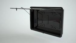 Vandalsäker vattentät låda för tv 50-60