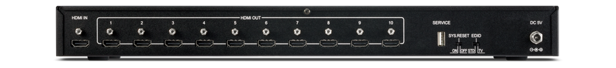 CYP/// HDMI splitter 1 in 10 ut, 4K, HDCP 2.2, HDMI v1.4