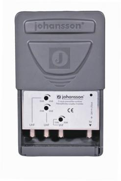 Johansson Antennförstärkare DANMARK UHF (50-53) / UHF / VHF