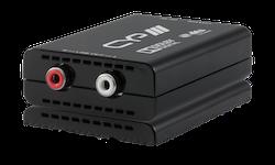 Koaxial digital till analogt ljud med Dolby / DTS Decoder