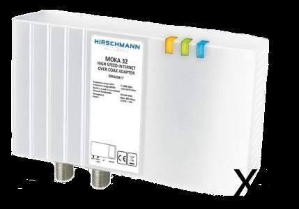 Hirschmann Nätverk / IP över koax / antenn 2 pack