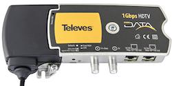 1 Gbps Nätverk / IP över koax / antenn eller el-uttag