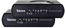Triple Play Gateway med 1 Gbit och PLC x2