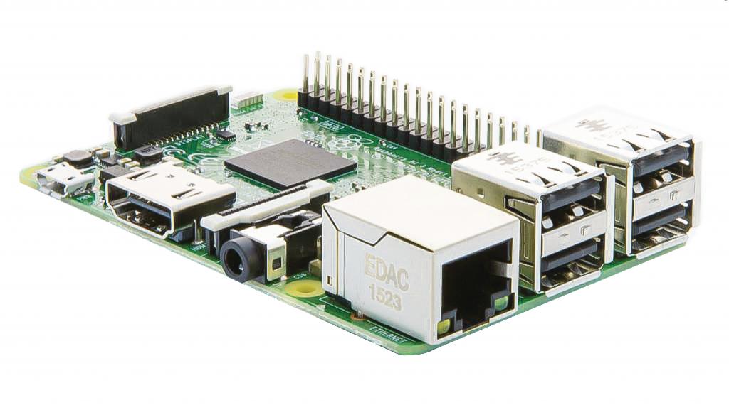 RPi Raspberry Pi 3 KIT med WLAN, BlueTooth och HDMI