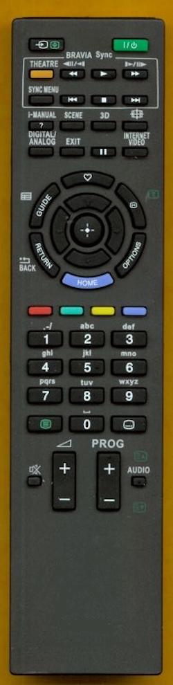 Fjärrkontroll Replica för RM-EDxxx