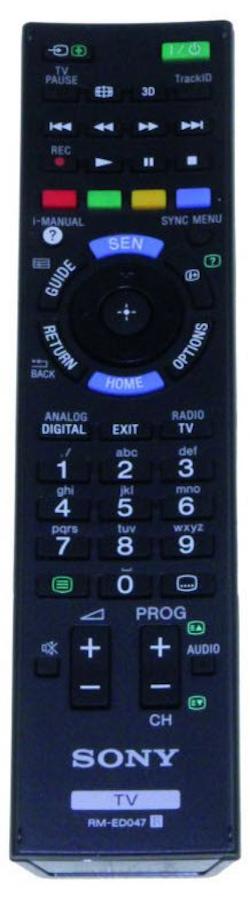 Fjärrkontroll RM-ED047 Replica