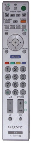 Sony Fjärrkontroll RM-ED016 Vit