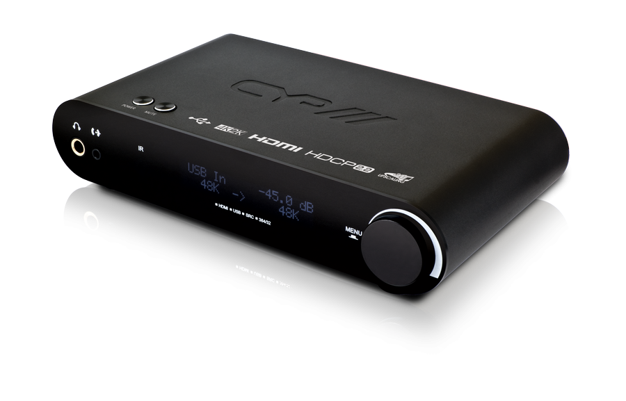 CYP/// Advanced DAC with HDMI switching & Audio breakout