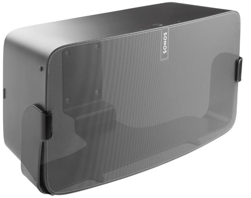 Cavus Väggfäste för Sonos Play:5 MKII Nya Versionen Svart Fast