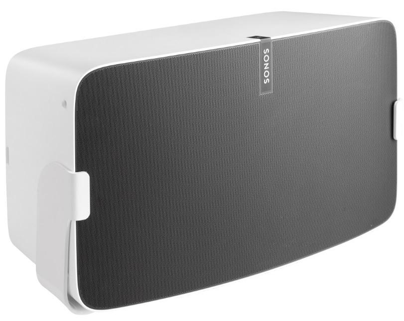 Cavus Väggfäste för Sonos Play:5 MKII Nya Versionen Vit Svängbart