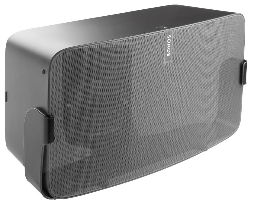 Cavus Väggfäste för Sonos Play:5 MKII Nya Versionen Svart Svängbart