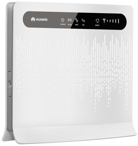 Huawei 4G Router för redundans, wifi  och 4 LAN portar