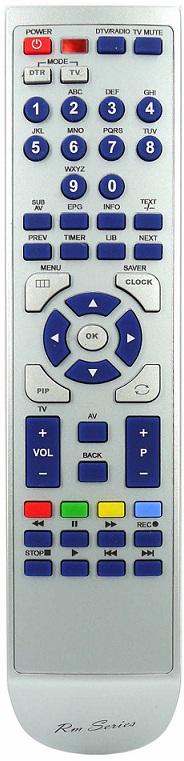 Philips Ersättnings Fjärrkontroll DVP3100V