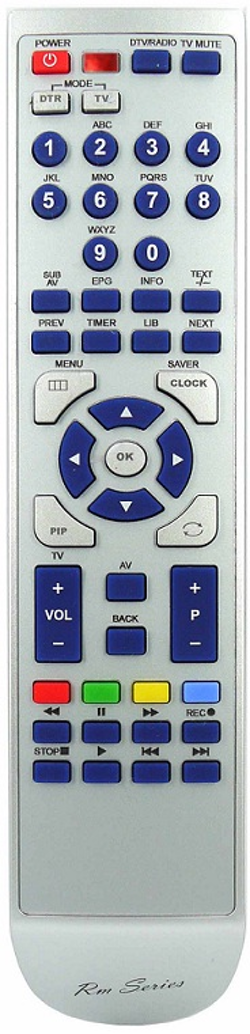 Ersättnings Fjärrkontroll DVP3100V