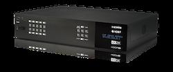HDMI - HDBaseT matris 10x8+2 med separat audio matris