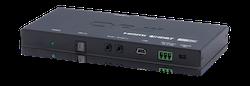 Slimline HDBaseT Lite mottagare, 4K, HDCP2.2, OAR