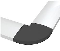 Kabelkanal Aluminium / Grå  1000 x 61mm