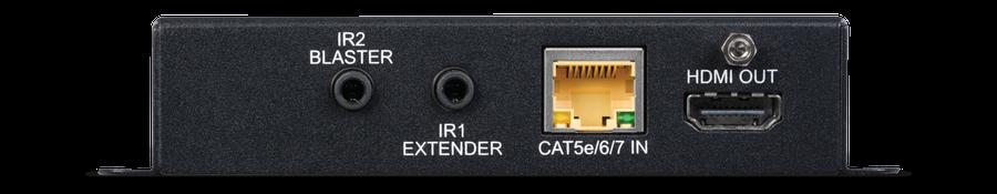 CYP/// Full HDBaseT mottagare, 4K, HDCP2.2, PoH, IR, LAN