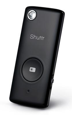 Shuttr fjärrutlösare för Smartphones / iPhone / iPad Svart