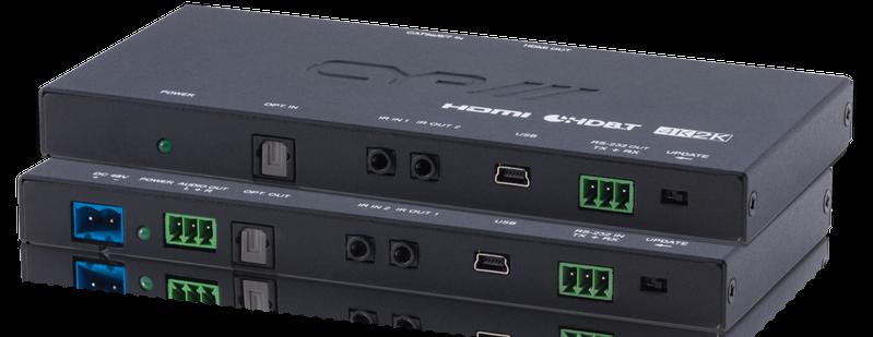 CYP/// Slimline HDBaseT Lite Kit, 4K, HDCP2.2, PoH, OAR
