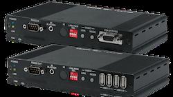 HDMI / VGA över IP KIT med USB, 4K, HDCP2.2