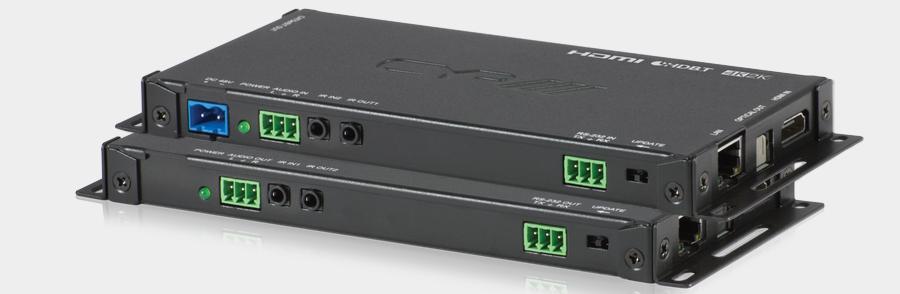 CYP/// Slimline HDBaseT 2.0 KIT, 4K UHD, HDCP 2.2