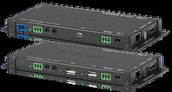 Slimline HDBaseT 2.0 KIT, 4K, HDCP 2.2, PoH, USB