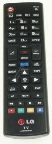 LG Fjärrkontroll AKB73975761