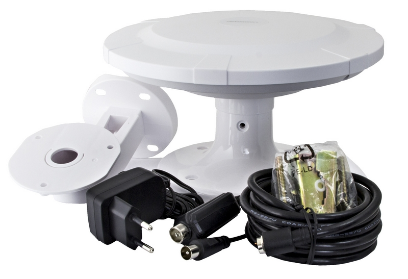 Alphatronic UFO AN2, mobilt bruk, rundmottag. 20 dB