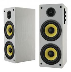 Hoch högtalarset 2.0 Bluetooth 70W VIT
