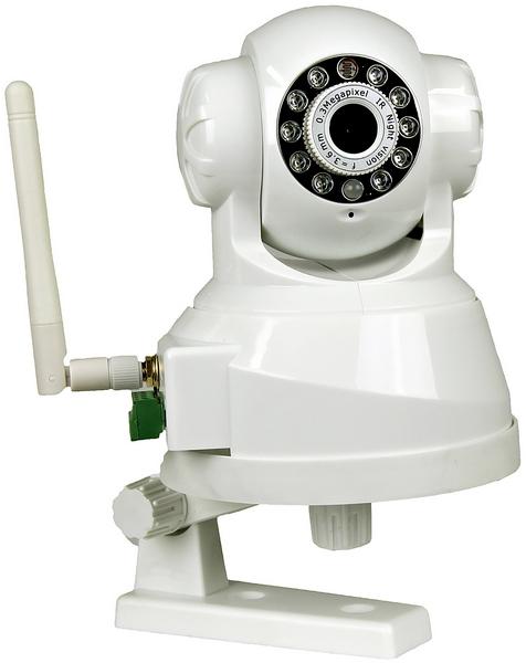 Apexis Inomhuskamera, APM-11 trådlös styrning, pan / tilt PoE
