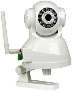Inomhuskamera, APM-11 trådlös styrning, pan / tilt PoE