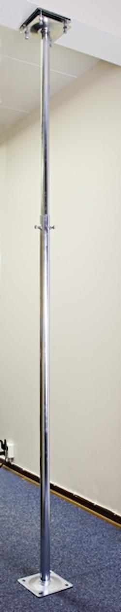 Balkongstativ för antenn, parabol, belysning mm