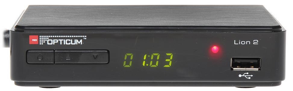 Opticum AX Lion T2 Markbox för fria kanaler