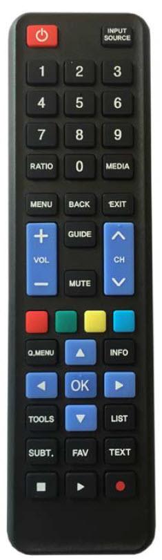 LG Fjärrkontroll som passar alla TV