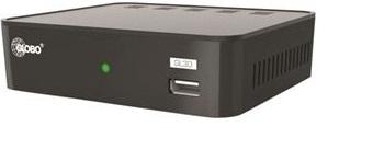 Globo Fribox för marknätet med HDMI