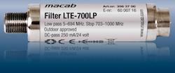 LTE-700 LTE/4G/GSM filter mot störningar 700Mhz