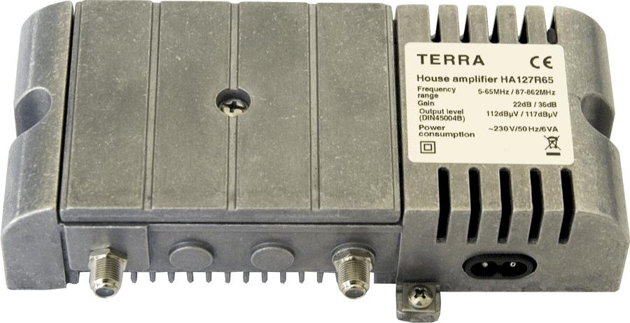 Terra Antennförstärkare Comhem 1 utg. Aktiv / Passiv retur