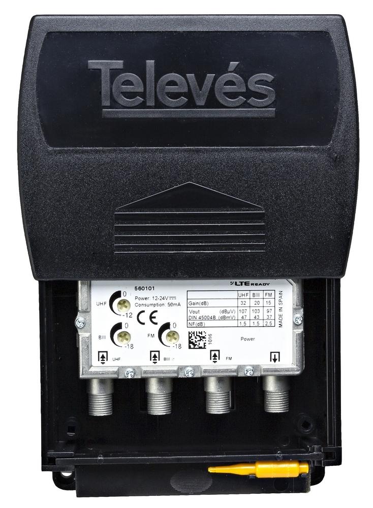 Televés Antennförstärkare 5601 12-24V