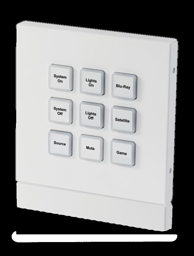 CYP/// Styrbox över IP med 9 knappar