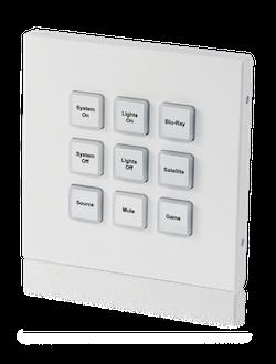 Styrbox över IP med 9 knappar