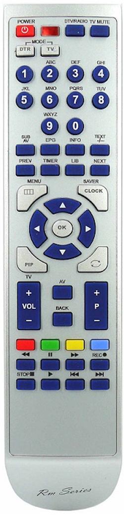 Ersättnings Fjärrkontroll för CDP-CX270